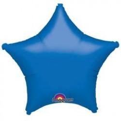 "19"" Star Metallic Blue Foil Balloon"