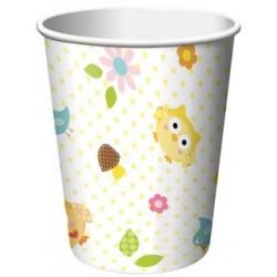 Happi Tree 9oz Paper Cup, 8pcs
