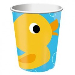 Lil' Quack 9oz Paper Cup, 8pcs