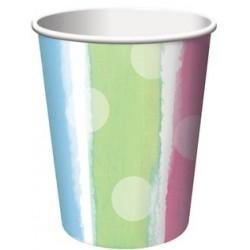 Baby Clothes 9oz Paper Cup, 8pcs