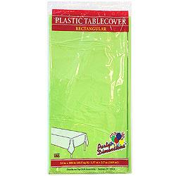 "Lime Green Rectangular Tablecover 54"" x 108"""