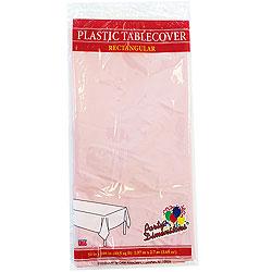 "Pink Rectangular Tablecover 54"" x 108"""