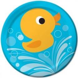 """Lil' Quack 9"""" Paper Plates, 8pcs"""
