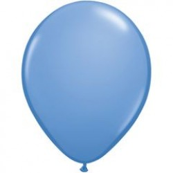 """11"""" Round Periwinkle Latex Balloon (with helium)"""