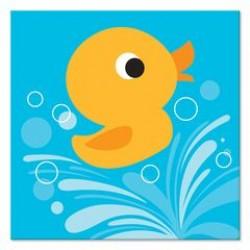 Lil' Quack Napkin 24.8 x 24.7cm, 16pcs