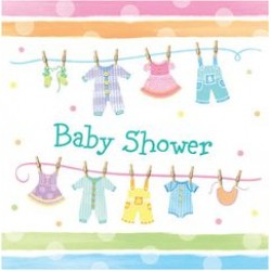 Baby Clothes Napkin 32.7 x 32.3 cm, 16pcs