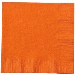 Orange Paper Napkin 33 x 33 cm, 20pcs