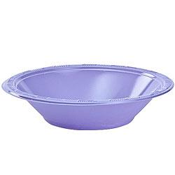 Hydrangea 12oz Plastic Bowl, 12pcs