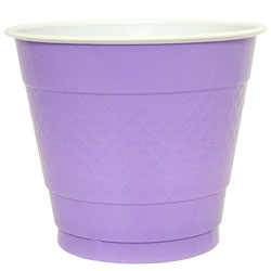 Hydrangea 9oz Plastic Cup, 18pcs
