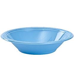 Light Blue12oz Plastic Bowl, 12pcs