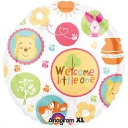 "Winnie the Pooh Welcome Little One 18"" Foil Balloon"