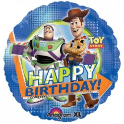 "Toy Story 3 Birthday Group 18"" Foil Balloon"