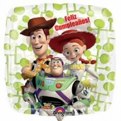 "Toy Story 18"" Square Clear Balloon"