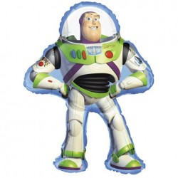 "Toy Story Buzz Lightyear Foil Balloon 24"" W x 35"" H"