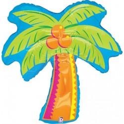 "Tropical Palm Foil Balloon - 33"" (H) x 28 (W)"