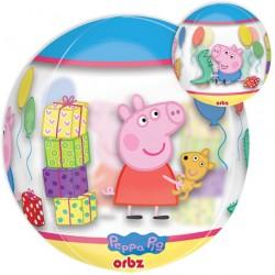 "Peppa Pig Orbz Balloon - 15"" W x 16"" H"