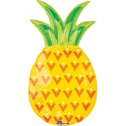 "Pineapple Foil Balloon - 14""W x 31""H"