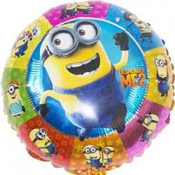 "Despicable Me Minion Colorful 18"" Foil Balloon"