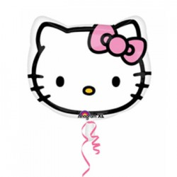 "Hello Kitty Head 18"" Foil Balloon"