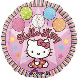 "Hello Kitty Pink 18"" Foil Balloon"