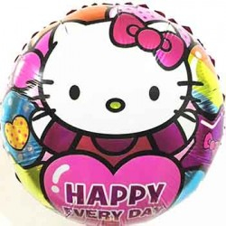 "Hello Kitty Happy Everyday 18"" Foil Balloon"