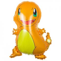 "Pokemon Charmander Foil Balloon - 21""H x 17""W"