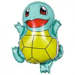 "Pokemon Squirtle Foil Balloon - 21""H x 17""W"