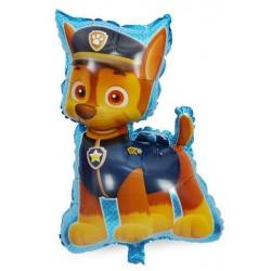 """Paw Patrol Chase Shape Foil Balloon - 24""""H X 16""""W"""