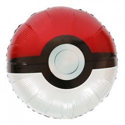 "Pokemon Pokeball 18"" Foil Balloon"
