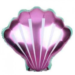 "Shell Pink 18"" Foil Balloon"