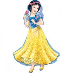 "Disney Princess Snow White Foil Balloon - 24"" x 37"""