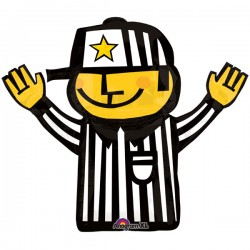 "Referee 32"" Foil Balloon"