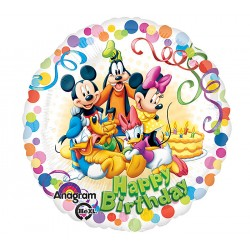 "Mickey & Friends Party 17"" Foil Balloon"