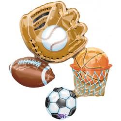 """Action Sports Connext 35"""" Super Shape Foil Balloon"""