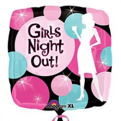 """Girls Night Out 18"""" Foil Balloon"""