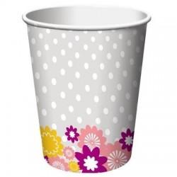 I Do Cake 9oz Paper Cup, 8pcs