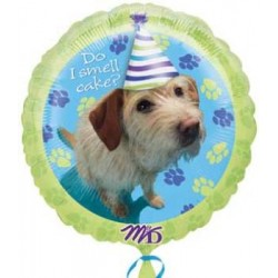 "Party Pups Birthday 18"" Foil Balloon"