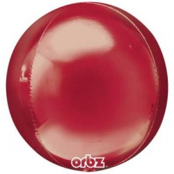 "Orbz Red 16"" Foil Balloon"
