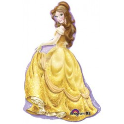 "Disney Princess Belle Shape Foil Balloon - 24""W x 39""H"