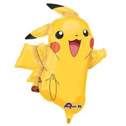 """Pikachu Shape Foil Balloon - 24.5""""W x 31""""H"""
