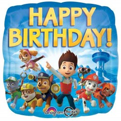"Paw Patrol Birthday 17"" Foil Balloon"