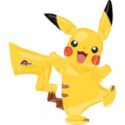 "Pokemon Pikachu Airwalker Foil Balloon - 52""W x 55""H"