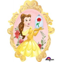"Disney Princess Beauty & The Beast Foil Balloon - 25"" W x 31""H"