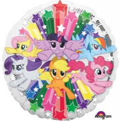 "My Little Pony Gang 18"" Foil Balloon"