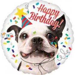 "Birthday Dog 18"" Foil Balloon"