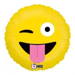 "Emoji Wacky 18"" Foil Balloon"