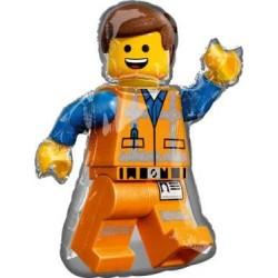 """LEGO Figure Shape Foil Balloon - 24"""" W x 32"""" H"""