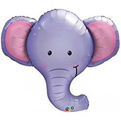 "Elephant Ellie 39"" Foil Balloon"
