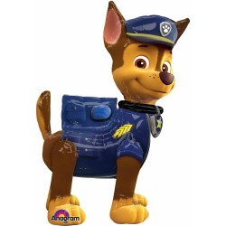 "Paw Patrol Chase Air Walker Foil Balloon - 37""W x 54""H"
