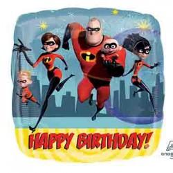 "Incredibles 2 Birthday 18"" Foil Balloon"